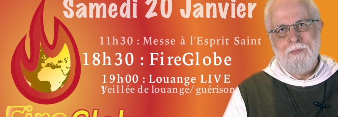 FireGlobe.net du Samedi 20 Janvier aux Sables d'Olonne avec la communauté des Béatitudes