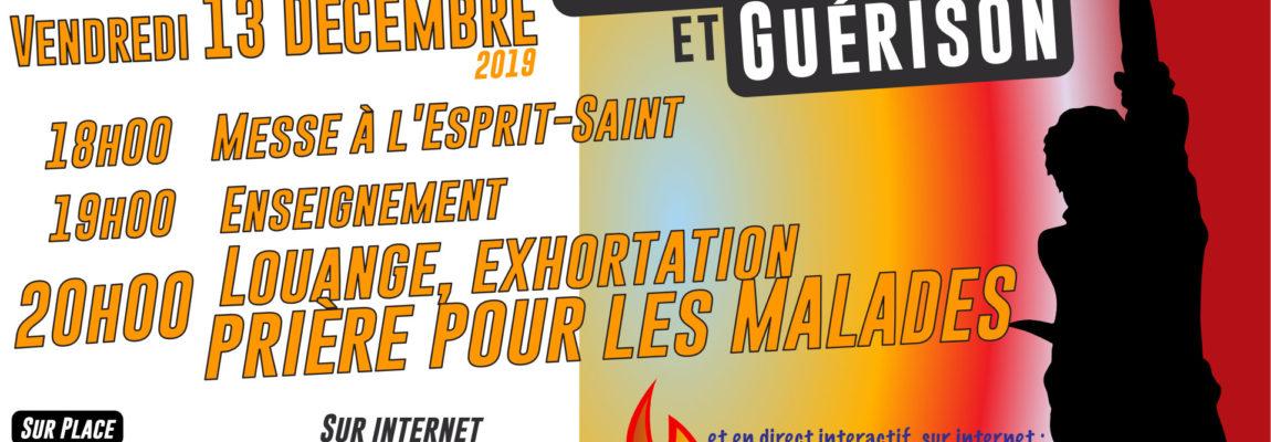 Soirée live : Miséricorde et guérison Vendredi 13 Décembre 2019