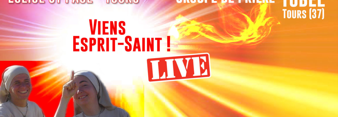 Dimanche 17 Janvier, 17h30 à 19h00, Soirée live «Viens Esprit-Saint» avec Yobel Tours